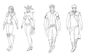 character designs 03 by teammist