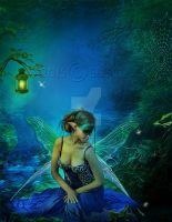 Blue Fairy by Euselia
