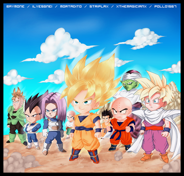DBZ ! The Epic Battle -Collab- by mortadito