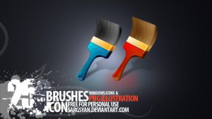 Brushes by sargsyan