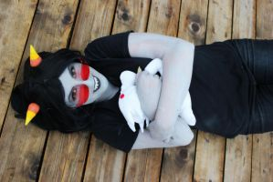 Homestuck - Terezi Pyrope cosplay 2 by Sioxanne