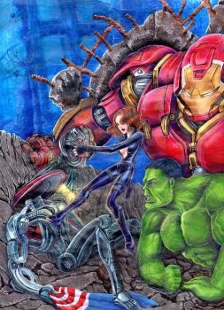 avengers finish by coffenz