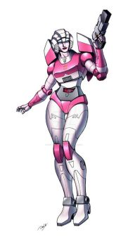 Arcee by Dan-the-artguy