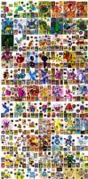 'Project 500+' all pokemon