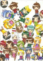 Chibi Montage by Tygirl181