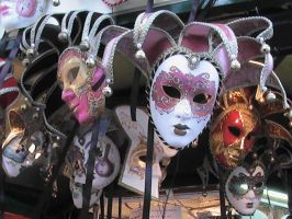 Venetian Masks by HollyPirate