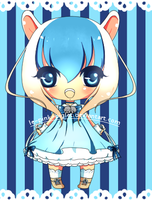 Adoptable GIVEAWAY! WINNER angelbunny1391!!! by le-pink-piglet