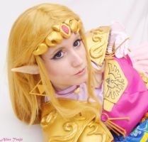 Hylian princess by AliciaMigueles