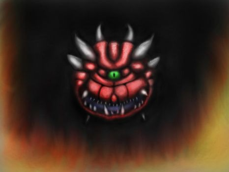 Cacodemon by ClaytownPaintings