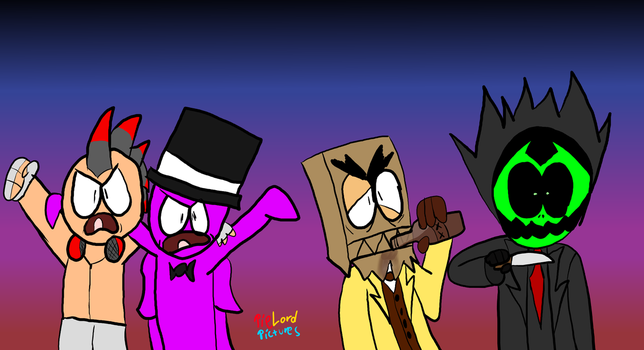 A Bunch of Weirdos by PieLordPictures