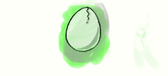 ghost egg by dreamerXD