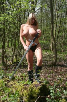 Warrior Queen 37 by Singingnaturist