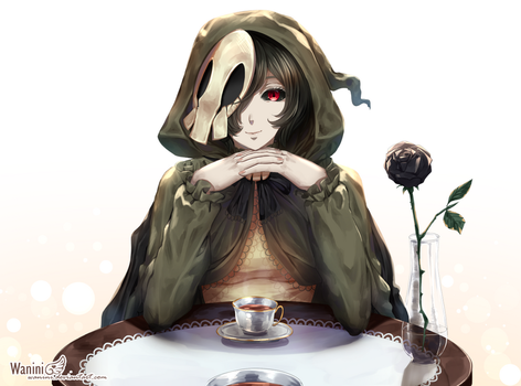 CM - Shall we have a cup of tea (SPEEDPAINT UP) by Wanini