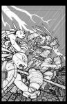 TMNT Amazing Adventures 2 cover pencils by Red-J