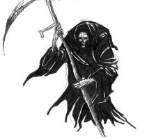 The grimreaper by bumbe