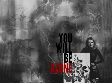BLEND: Alone by ZaulaGraphics