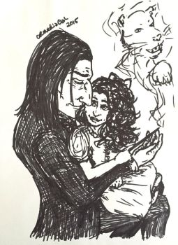 Unquestionable Love - Severus and my OC, Jeannie by CR-MediaGal