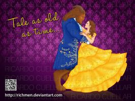 Beauty and the Beast 2017 by Richmen