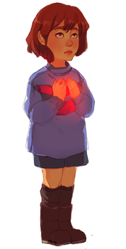 Frisk by aliencake