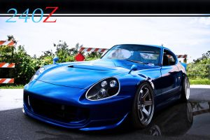 NISSAN 240Z by ROOF01