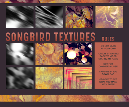 Songbird Texture Pack by Smol-Riddle