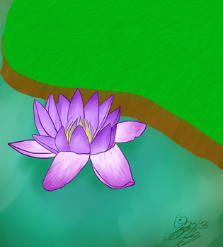 Waterlily by Fflewdder-the-Bard