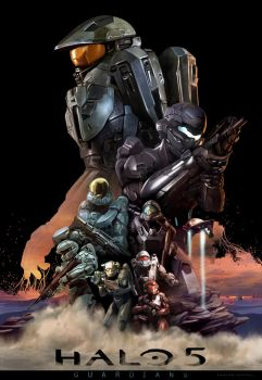 HALO 5 (The Guardians) by CarlosDattoliArt