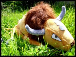 Tauros Plushie by BakedStitches
