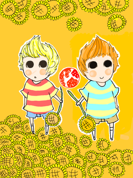 Twins by Meetsu by Mother3Fuel