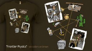 Frontier Physics - t-shirt by InfinityWave
