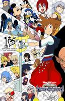 Kingdom Hearts 15th Anniversary RE:connect style by ADULTIMATE