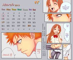 IH manga moment calendar - March by Rei-Ami
