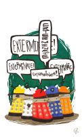 EXTERMINATE! by eightbreeze