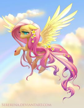 Fluttershy by sererena