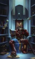 Blood Angels Librarian by Mlad