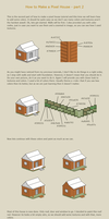How to make a pixel house 2 by vanmall