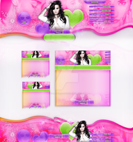 Layout para - Demi Lovato Highquality - by ValeVelez-222