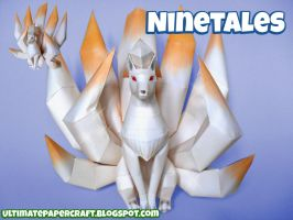 Pokemon Papercraft Ninetales