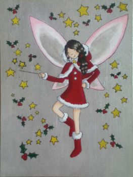 Holly the Christmas Fairy by MinervaEmiprav