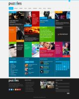 PuZzle WordPress Theme by sandracz