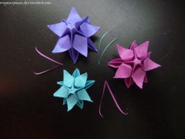 Origami Christmas Star by OrigamiPieces