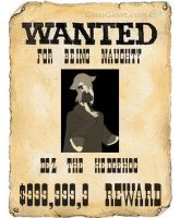 wanted poster by bluehedghog