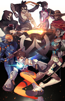 OVERWATCH by Dragons-Roar