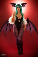 Morrigan Aensland by cosplaylala