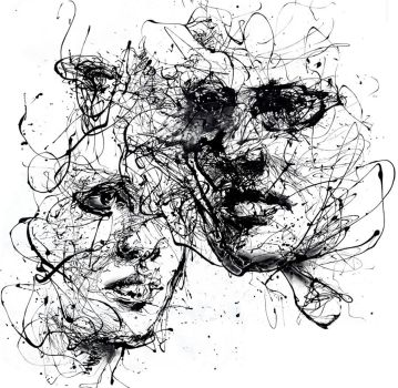 our lines, our story, it isn't a linear path by agnes-cecile