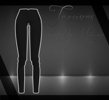 MMD - Trousers - [DOWNLOAD][DL] by Milionna