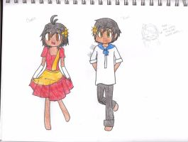 Charice and Rizal Tinikling by mamoru14