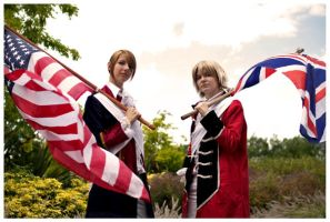US_UK Revolution cosplay JAF by Sukai-yume