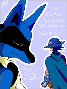 Even time can't separate us by yamina-chan