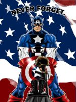 Capt America Commission by Thuddleston